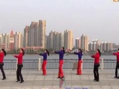 青儿广场舞《山里红了》含手势要领及背面