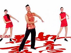 王广成广场舞 《中国喜事》 附分解动作教学