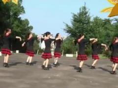 阿中中广场舞 秋蝉 中三