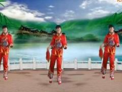 太湖一莲广场舞 开门红 秧歌舞 原创 正背面附分解