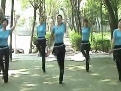高安子君广场舞 《为内蒙古喝彩》