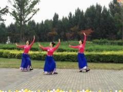 西安悠然亚虎娱乐,亚虎娱乐app,亚虎777娱乐老虎机《歌唱》藏族舞蹈