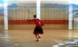 格格广场舞 《纳木措恋人》 含背面分解动作