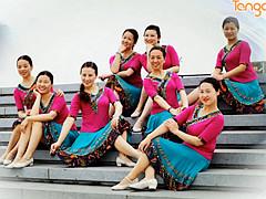 応歌燕舞南京队 《家乡谣》 含背面分解教学