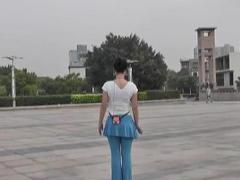 动动广场舞 《泉水叮咚响》正反面分解视频