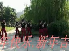 临安飞翔广场舞 迎春花儿开 新年天天乐