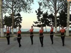 阿中中广场舞《樱花草》合作演教版