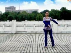 云裳广场舞 《阿里新歌》 含背面分解动作教学
