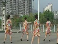 応子广场舞《美丽的天使》俏木兰合作版含背面分解教学