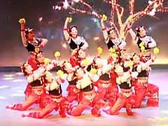 云裳团队藁城区春晚舞蹈节目 春来了+满山花花开