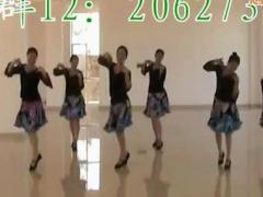 高安子君广场舞《爱情万万岁》教学版