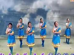 阿中中广场舞 《去西藏》 合作演教版