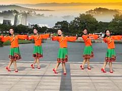 応子广场舞《天边》上海慧舞飞扬舞蹈队 含背面动作分解教学