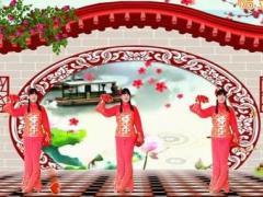 魏县梦之兰广场舞 吉祥中国年 原创手绢舞附教学