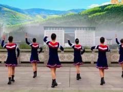 吉美广场舞 《爱情天堂》 恰恰版 含背面动作分解教学
