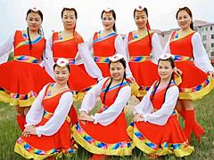 云裳广场舞《我来到西藏》藏族舞 含背面分解教学