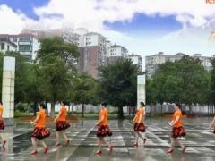 高安子君广场舞《雪域康巴女》含背面分解