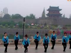阿中中广场舞《洪湖水浪打浪》荆州电大健身队