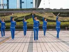 阿中中广场舞《相思结》合作演教版