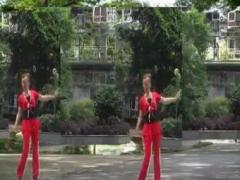 幸福天天广场舞《山里红》正反面演示