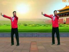 凤凰六哥广场舞 《北京的金山上》 含背面分解教学