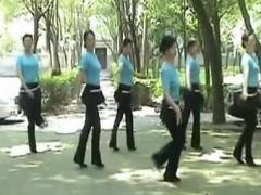 高安子君广场舞 《欢喜就好》