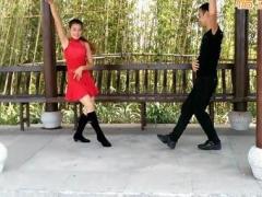 神彩广场舞 《兵哥哥》 双人对跳 含背面动作分解教学