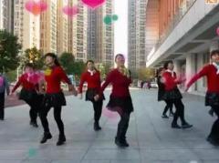 可爱妈妈广场舞 小苹果 张林冰编舞
