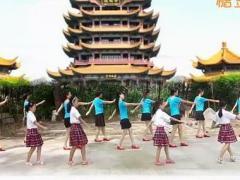 瑶瑶姐妹广场舞 烟花三月下扬州 16步 编舞江南 制作春风