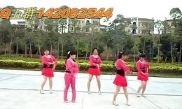 可爱玫瑰花广场舞 快乐广场 舞蹈教学视频