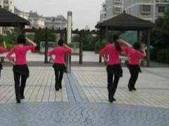 应子广场舞 《我的甜甜小妹》 雨夜合作版 附正背面演示