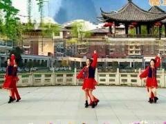 新风尚最新广场舞《歌在飞》创意双人舞男版 含背面动作分解教学