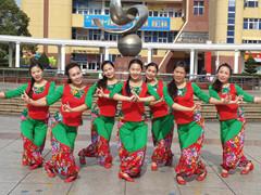 応子广场舞 《过年啦》 含背面动作分解教学