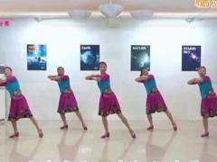 苏州盛泽雨夜广场舞 《桃花姑娘》 含背面动作分解教学