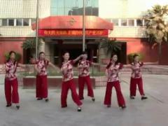 万年青广场舞 《泉水叮咚响》