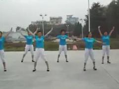 万年青健身乐广场舞《栀子花开》形体舞