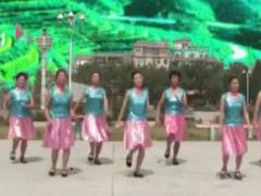 万年青广场舞《茶山情歌》健身舞 抠像版