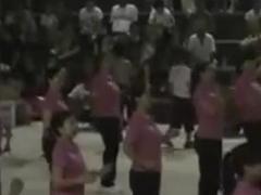 屈家岭五三广场 健身 排舞