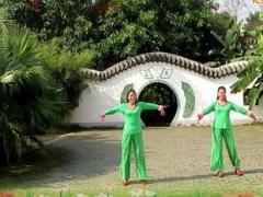 广西柳州彩虹健身队姊妹花亚虎娱乐,亚虎娱乐app,亚虎777娱乐老虎机《江南音诗》编舞:张春丽