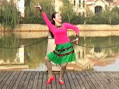 应子广场舞 《傣家姑娘》 含背面动作分解教学