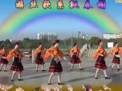 万年青广场舞 葬花吟 原创团扇舞