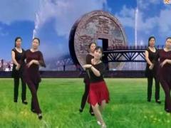 新丽莉舞蹈广场休闲伦巴 紙月亮 舞友合屏