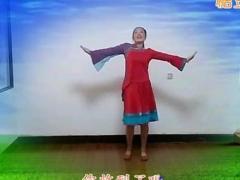 山东紫怡然广场舞 天籁之爱 原创编舞附教学