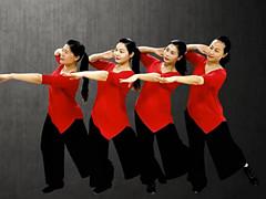 応子广场舞 《向往》 含背面动作分解教学
