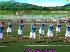 阜宁舞梦缘广场舞 《紫色丫丫》 编舞雨夜 团队版