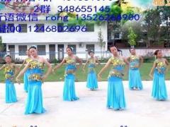 听语广场舞 《彩云之南》 傣族舞 含背面分解教学