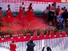 广西七冲国家级自然保护区演出 伦巴中三 恰恰