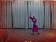 万年青广场舞《粉墨情缘》原创慢动作教学
