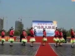 盐城市第二届广场舞大联盟 《苗乡侗寨》嫣然广场舞队