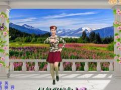 新丽莉舞蹈《雪山姑娘》单人水兵舞